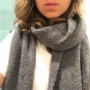 Madewell Accessories - Madewell oversized wool blend scarf